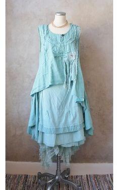 Långa kjolar>Linda, Cloudblue  shop.ostebro.se