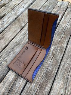 Custom wallet #leathercraft #fashion #mensfashion #handmade #propergentleman