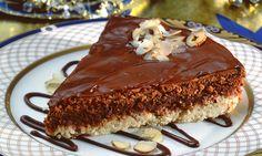 torta brownie de avela