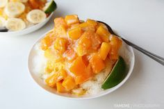 Mango shaved ice. Lily Fruit Shop,Tainan #Taiwan 台南 莉莉水果店 芒果冰