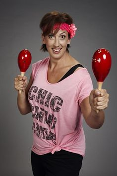 Miranda Hart's Maracattack workout video... LOVE!