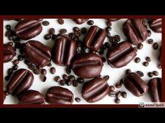 Kávové zrno, jednoduché nepečené cukroví. - YouTube Beans, Candy, Chocolate, Vegetables, Youtube, Christmas, Recipes, Xmas, Schokolade