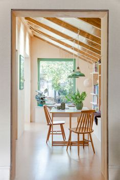 Interior Windows, Interior And Exterior, Kitchen Interior, Open Plan Kitchen, New Kitchen, Kitchen Living, Building Extension, Side Extension, Extension Ideas