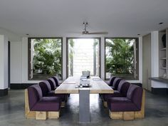 Piet Boon Styling by Karin Meyn | Rustic furniture with purple accent