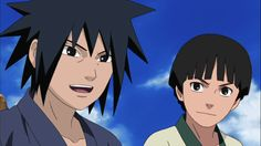 Uchiha Madara & Hashirama Senju childhood friends