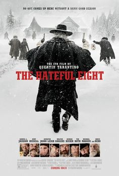 Set six or eight or twelve years after the Civil War, a stagecoach hurtles through the wintry Wyoming landscape. The passengers, bounty hunter John Ruth and his fugitive Daisy Domergue, race towards the town of Red Rock ...