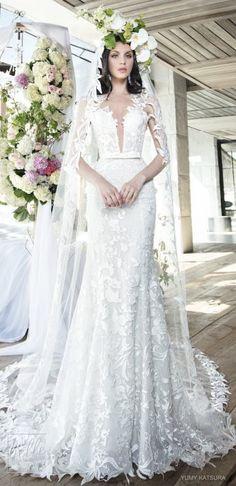 Yumi Katsura Spring 2019 Wedding Dresses Life Is A Garden Bridal Collection - FELICITY WITH VEIL