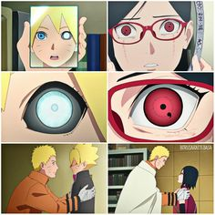 The Jôgan & the Sharingan..  Borusara eyes..