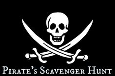 PIRATE'S SCAVENGER HUNT