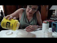 Pasta relieve casera TRANSPARENTE!!!! #gracielaherman - YouTube Decoupage, Pasta Casera, Glue Art, Pasta Flexible, Diy Videos, Stencils, Diy And Crafts, Scrapbook, Youtube