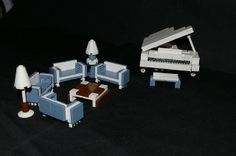 2006 - lego living room, cantilever house
