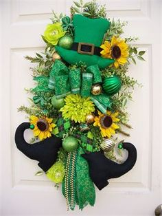 St Patty Wreath