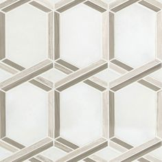 Royal Link Geometric Tiles | Patterned Wall Tile | Glass Mosiacs Patterned Wall Tiles, Geometric Tiles, White Polish, Shower Surround, Tile Installation, Wall Patterns, Stone Tiles, Mosaic Glass, Grout
