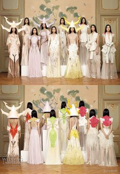 Ricardo Tisci for Givenchy Haute Couture Ellie Saab, Image Mode, Bcbg, Spring Couture, Bridesmaid Dresses, Wedding Dresses, Couture Collection, Backstage, Fashion Show