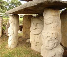 San Agustin Archeological Park, Colombia, South America