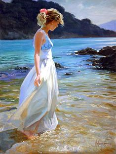 """My newest addition. """"Delicate Amble"""" This will go in our master Bedroom. vladimir volegov /his work is beautiful"""