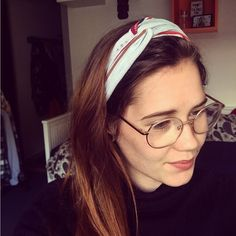 Diy hairband #diy #hairband #crea #creative #fun #sew #oldtop #topmadenew #clothes #like #follow
