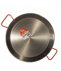 12in/30cm Steel Paella Pan ** To view further for this item, visit the image link.