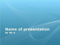 Blue abstract background Powerpoint Template