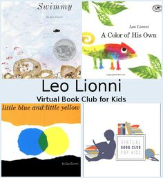 June Virtual Book Club: Leo Lionni - 3Dinosaurs.com