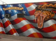 """Tunnel to Towers Foundation  After someone spray painted """"Patriotism Makes Me Sick!"""" over one of Scott LoBaido's American Flags in Brooklyn, NY, scott Painted this masterpiece..."""