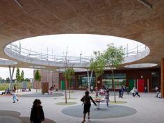 Galeria de Escola Lucie Aubrac / Laurens&Loustau Architectes - 6