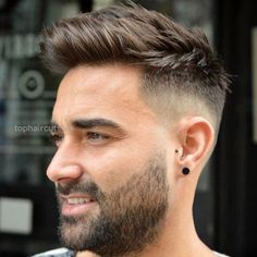 As one of the latest hair trends for men, the skin fade comes in a variety of cuts, such as a high, mid and low bald fade haircut. The low fade haircut can best be described as a lasting style that only gets better with time. [Read the Rest] → Comb Over Fade Haircut, Fade Haircut Styles, Cool Haircuts, Haircuts For Men, Haircut Men, Men Haircut 2018, Popular Hairstyles, Fade Haircut For Men, Men's Haircuts Fade