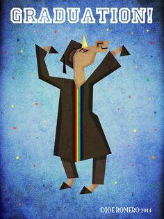 "Unicorn of the Day ""Graduation Unicorn"" | That's So Unicorny"
