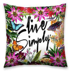 Almofada Live Simply - Decohouse
