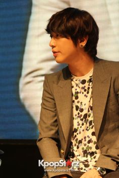 CNBLUE Jung Yong Hwa Celebrates Birthday At Blue Moon In Manila Press Conference