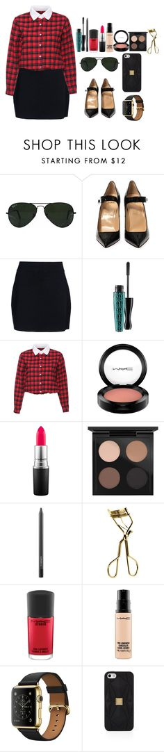 """""""Running Man Special guests: Choi Haera"""" by thesassqueen1710 ❤ liked on Polyvore featuring Ray-Ban, Christian Louboutin, A.L.C., MAC Cosmetics, Hervé Léger, ootd, kpop, CasualChic and redandblack"""