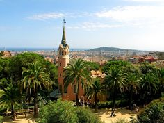 Parque Guell -Casa de Dali-, Barcelona