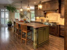 RUSTIC kitchen remodeling | ... Ideas: New Kitchen Decorating Ideas With Rustic Design – Bonasty