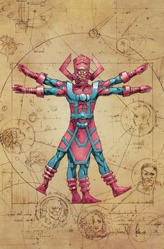 Ultimates #2 - Galactus by Kenneth Rocafort *