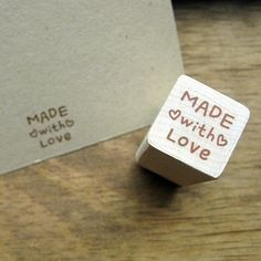 Hey, I found this really awesome Etsy listing at http://www.etsy.com/listing/62684801/wooden-rubber-stamp-heart-made-with-love