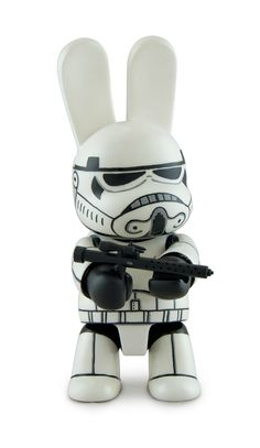 Stormtrooper Bunee. Custom Qee SWAB TOY'Z FOR FLS on Toy Design Served