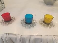 Decorative candle stands for tables