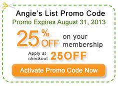 Get This Angie's List Price Reduction Just Before It Ends