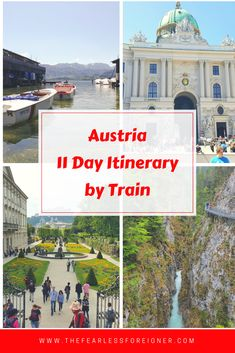 Austria Itinerary: 11 Days by Train