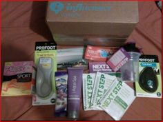 My #GoVoxBox from Influenster! Designed to make me want to get up and go! !
