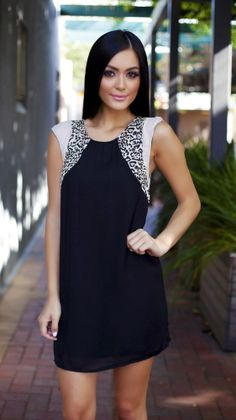 I love this dress... Pair with nude pumps & red lipstick... Perfect!