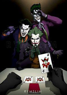 Play with Joker Joker Batman, Comic Del Joker, Batman Joker Wallpaper, Joker Y Harley Quinn, Joker Clown, Batman Comic Art, Joker Wallpapers, Joker Art, Gotham Batman