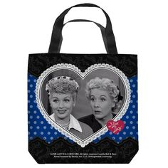 I Love Lucy Tote - Best Friends - LucyStore.com