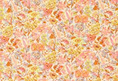 Vintage Liberty 0f London Tana Lawn -  Pink Peach Apricot Floral -1980's on Etsy, £14.53