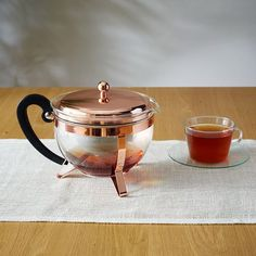 TEA LOVER Bodum Copper Teapot ($50): The tea lover in your life will never have to deal with annoying particles from loose-leaf tea again with this infusing teapot. (via West Elm)