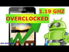 ADVANCE ANDROID - OVERCLOCKING - YouTube