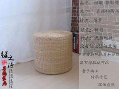 草编小凳子藤编坐凳矮凳圆凳时尚沙发创意换鞋凳坐墩休闲凳小墩子-淘宝网全球站