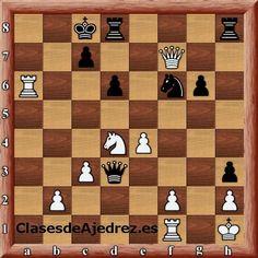 Mate en 4 para hoy #ajedrez http://www.clasesdeajedrez.net/categoria-de-producto/dvds-virtuales/imperio-ajedrez/?affiliates=ajedrez