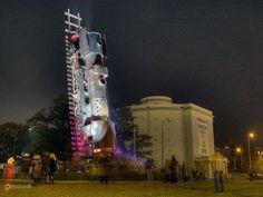 Поезд в небеса – #Польша #Нижнесилезское_воеводство #Осайидл_Сзкзепин (#PL_DS) Поезд в небеса - самый большой памятник в Польше.  ↳ http://ru.esosedi.org/PL/DS/1000465974/poezd_v_nebesa/