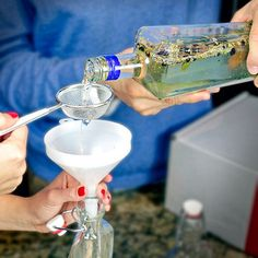 Make your own Gin -- Distill My Beating Heart